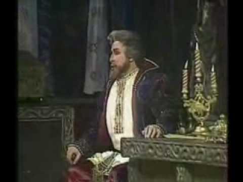 "Mussorgsky - Boris godunov. ""The hallucination scene"""