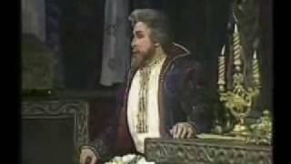 "Mussorgsky - Boris godunov. ""The hallucination scene"""