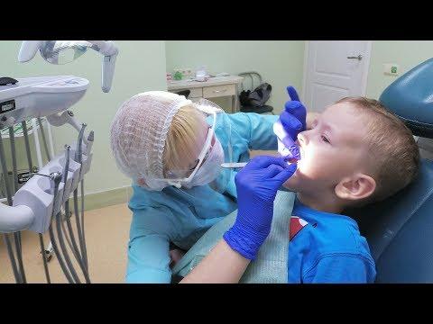 Как лечится кариес у стоматолога видео