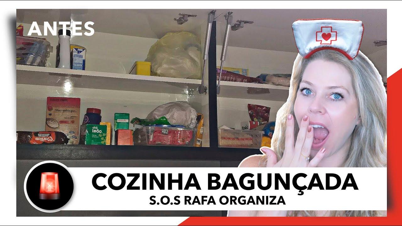 COMO ORGANIZAR A COZINHA - S.O.S RAFA ORGANIZA | OSF - Rafa Oliveira
