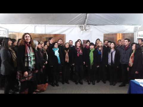 Coro UNRC   Feria del Libro   Doña Ubenza