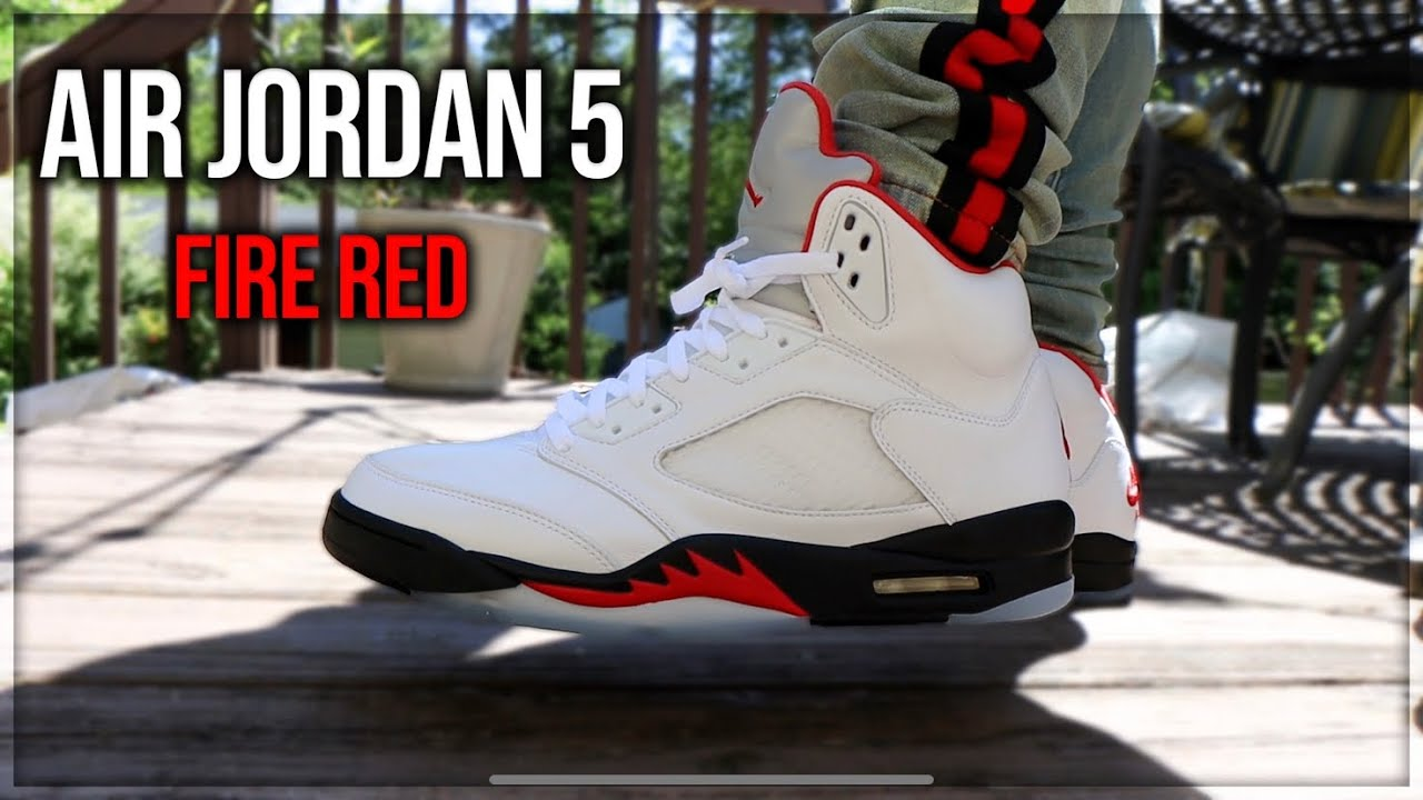 Air Jordan 5 Fire Red 2020 Review And