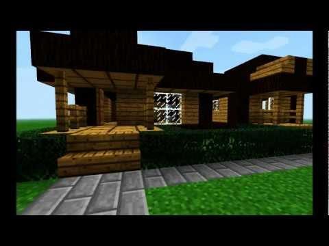 Casas modernas minecraft casa 3 doovi for Casa moderna minimalista interior 6m x 12 50m