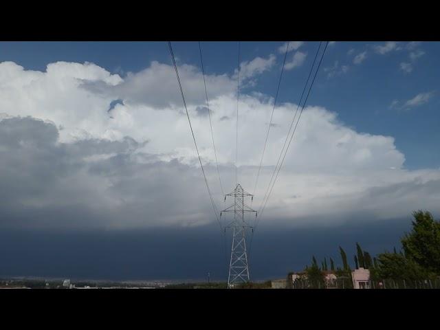 Tren de núvols convectius - Vic - Agost 2021