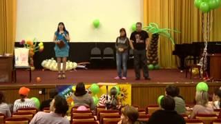 видео Тематическая свадьба и развлечение гостей
