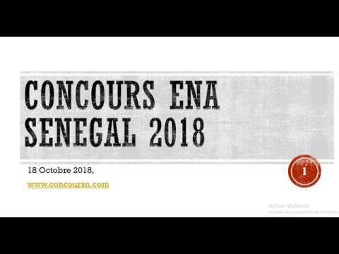 concours ena senegal 2018 modalit s d 39 inscription youtube. Black Bedroom Furniture Sets. Home Design Ideas
