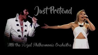 ELVIS PRESLEY & HELENE FISCHER (With the Royal Philharmonic Orchestra) - Just Pretend (New Edit) 4K