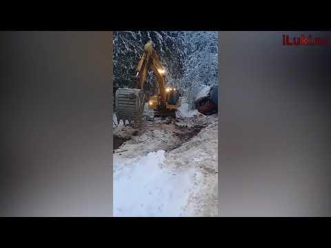 ДТП на трассе Великие Луки - Невель 15.01.19