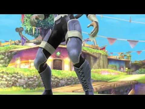 Zelda & Shiek in Super Smash Bros. Wii U & 3DS