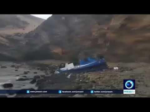 Peru Retrieves Fallen After Bus Crash Kills 25 People