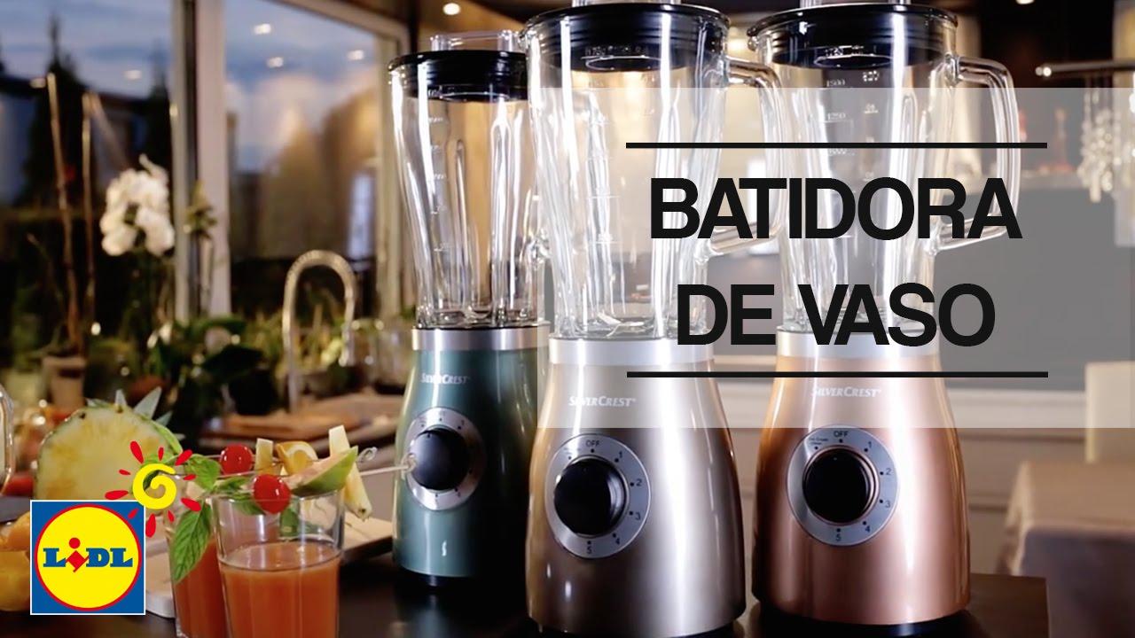 Batidora de vaso lidl espa a youtube - Batidora amasadora silvercrest ...