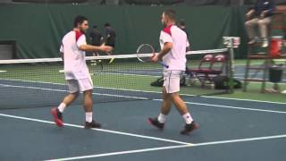 IU Men's Tennis: Washington Highlights