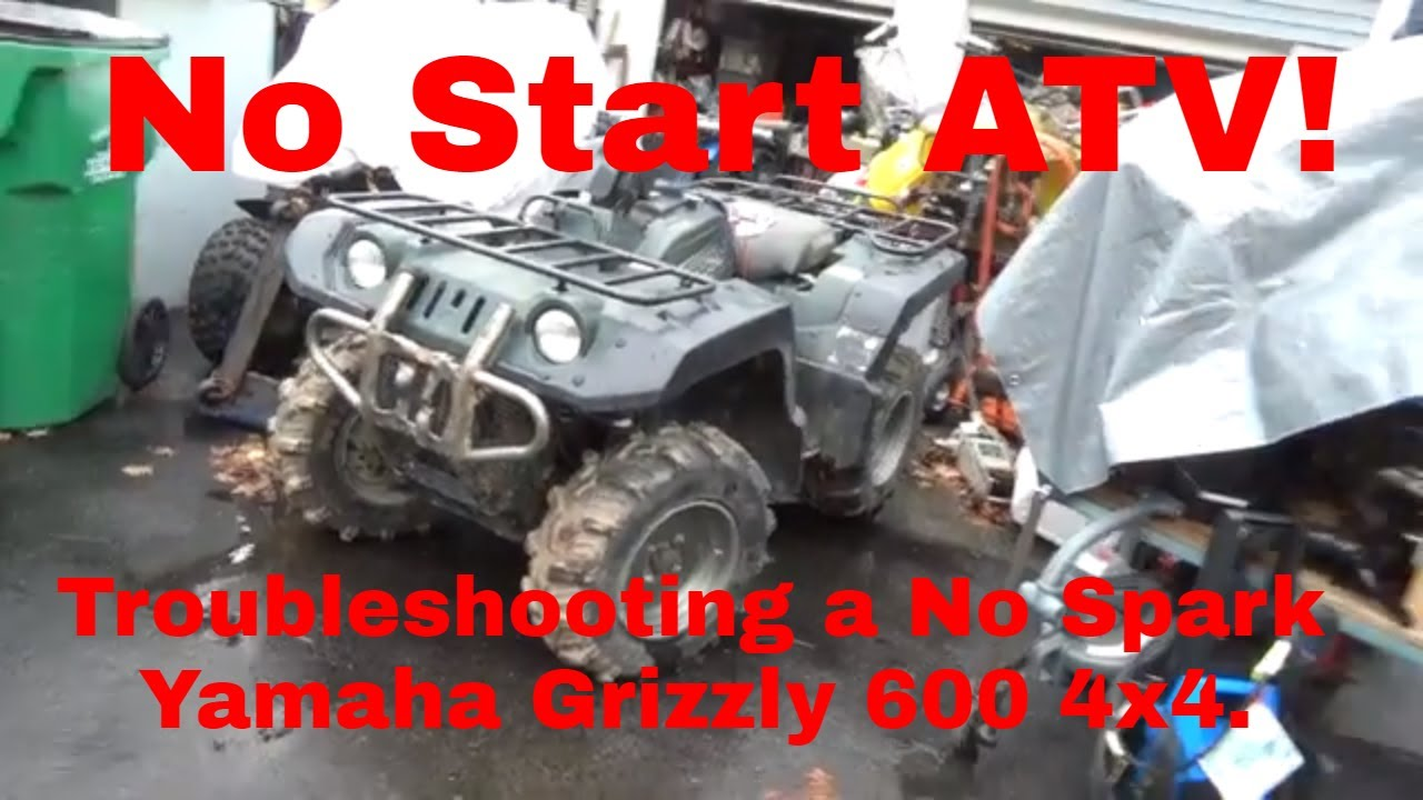 No Start Yamaha Grizzly 600, Troubleshooting a no spark ATV! on