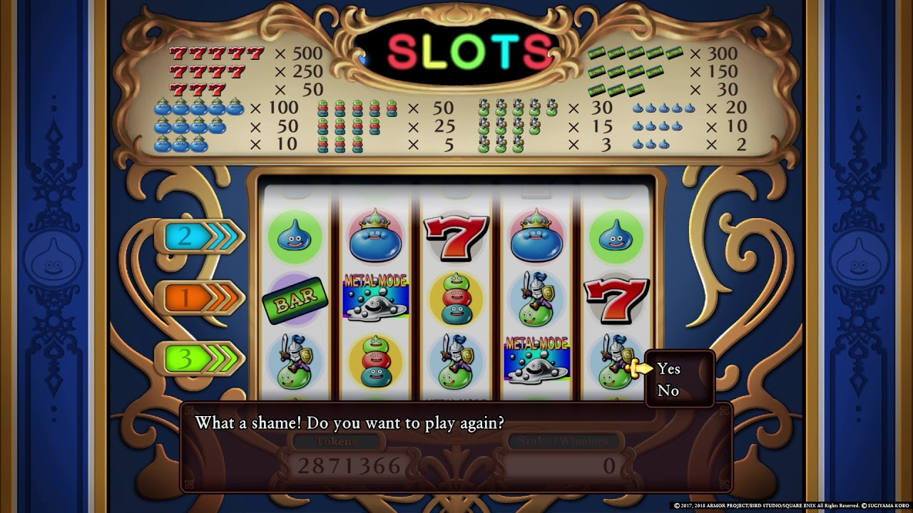 Dragon Quest 11 Slot Machine