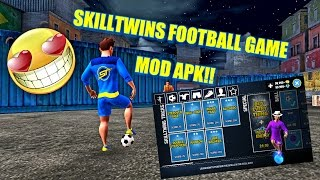 SkillTwins Football Game Mod (a Lot Of Money) For ANDROID
