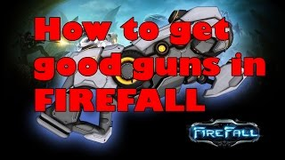 Firefall Game Mmorpg - Character Progression Guide - How To Get Good Guns
