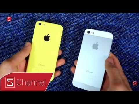 Schannel - iPhone 5C và iPhone 5 Lock Nhật - Nên chọn máy nào?