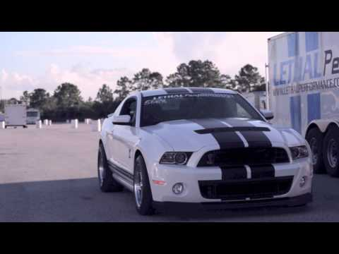 Lethal Performance's 2013 GT500 goes 9.77@148.80 - Stock Suspension, Stock Gears, Full Weight!!!