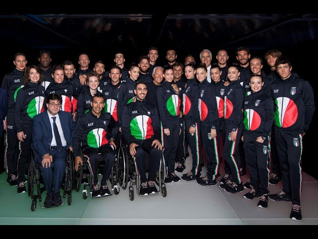 Official Italian Olympics and Paralympics Teams uniform unveiling for Tokyo 2020