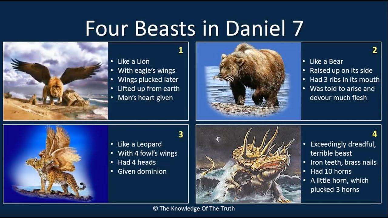 Understanding Daniels Visions  Chapter 7  8  YouTube