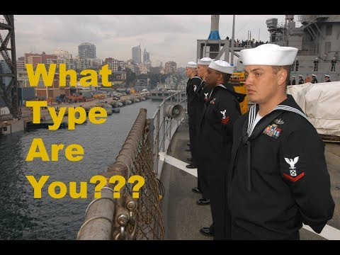 The 5 types of Sailors in Port