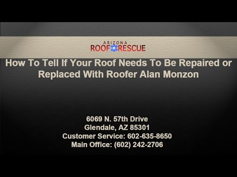 How To Tell If Your Roof Needs To Be Repaired or Replaced With Roofer Alan Monzon