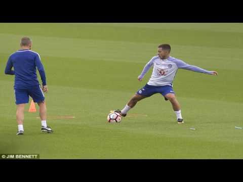 [News] Chelsea outcast nemanja matic trains with eden hazard