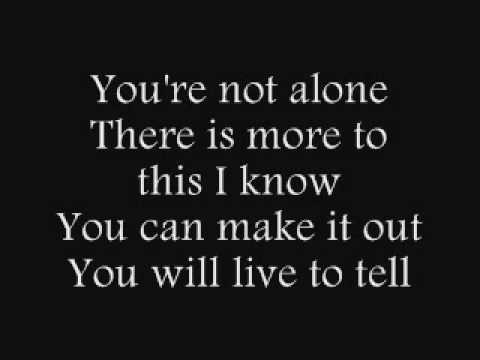 Saosin - You're Not Alone [Lyrics]