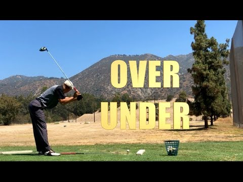 GOLF SWING DRIVER PRACTICE