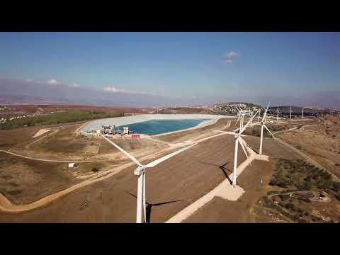 Turbines In Mount Gilboa - Israel