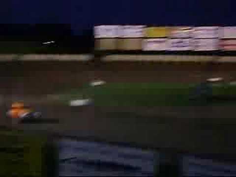 Charter Raceway Park - A Main - Legends 7-19-08 part2