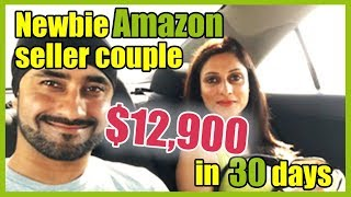 Newbie Amazon seller couple does $12,900 in one month | Just One Dime student review 2018