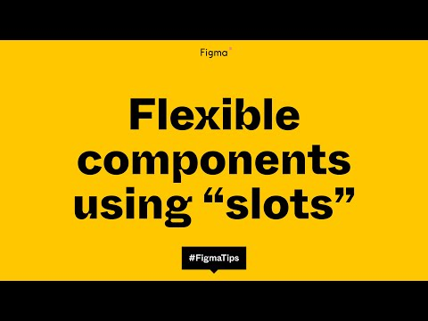 """Building flexible components using the """"slot"""" method"""