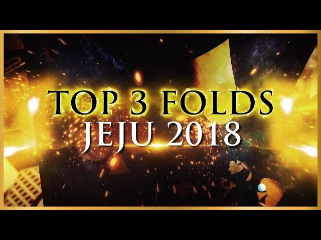 Top 3 Folds from Triton Poker SHR Jeju 2018