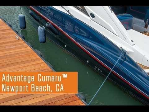 Advantage Cumaru™ Dock - Newport Beach, California