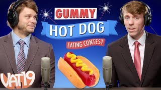 GUMMY Hot Dog Eating Contest