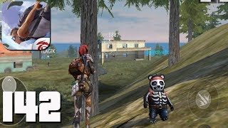 Free Fire: Battlegrounds - Gameplay part 142 - Bermuda SQUAD BOOYAH!🤩(iOS, Android)