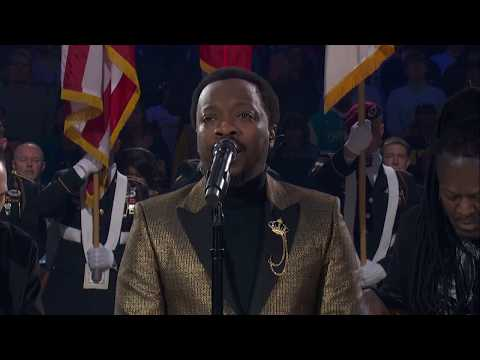 DJ Fountz - Anthony Hamilton's Version of The National Anthem at the NBA All-Star Game