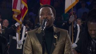 Anthony Hamilton Sings The United States National Anthem  | 2019 NBA All-Star