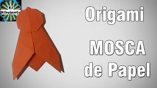 Origami | Como hacer una mosca de papel [El Dibujante]