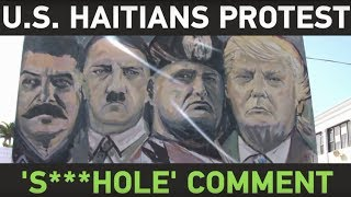 2018-01-17-09-09.US-Haitians-protest-Trump-s-alleged-s-hole-countries-comment