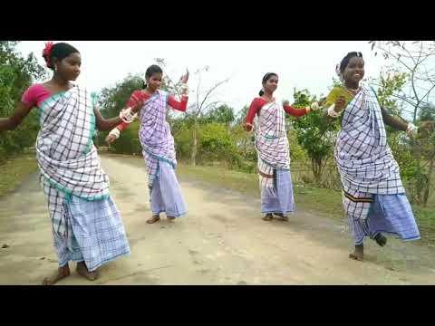 Santali Dance Video Sonero Saj Biti {J J B D G} MALDA HABIBPUR SHALBONA