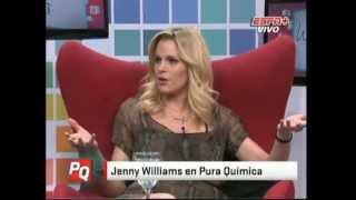 Jenny Williams en Pura Quimica (18-07-2012)