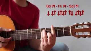 Como tocar La Bamba, sus Acordes y Ritmo. Curso básico de Acordes 22