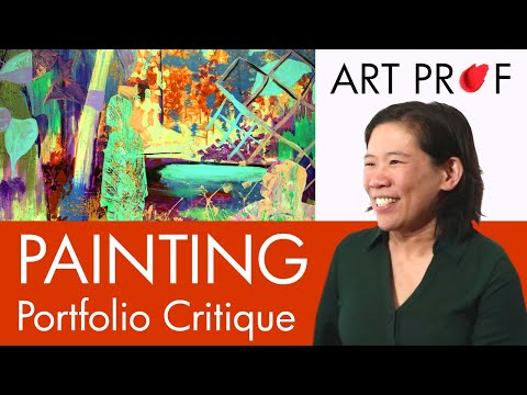 Art Critique: Oil Painting Portfolio / ART PROF