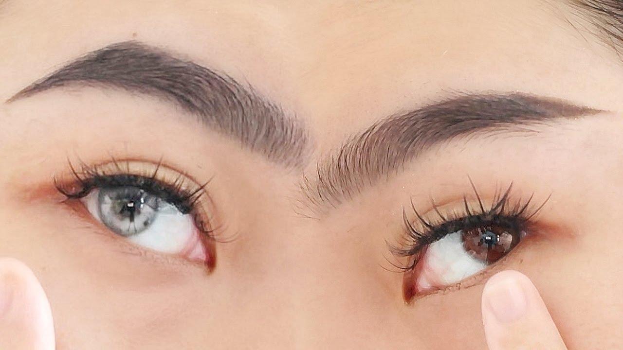 2 CÁCH VẼ LÔNG MÀY   ĐẸP NHƯ KHẮC   Eyebrows Tutorial ♡ Huỳnh Nhy Nè