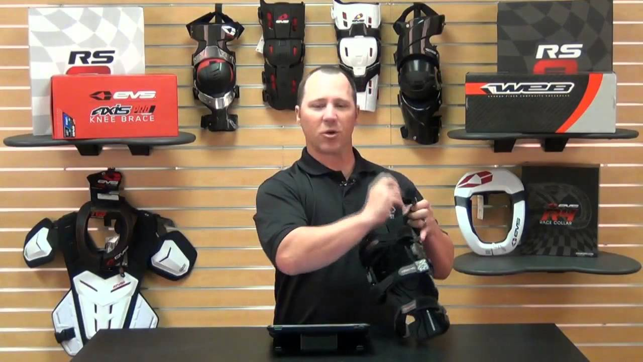 aa48f2bc84 EVS Sports Axis Pro Knee Brace Review - YouTube