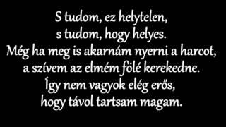 Apocalyptica Not Strong Enough Ft Brent Smith Magyar Szöveggel