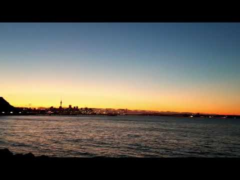 Mission Bay - Auckland Sunset view