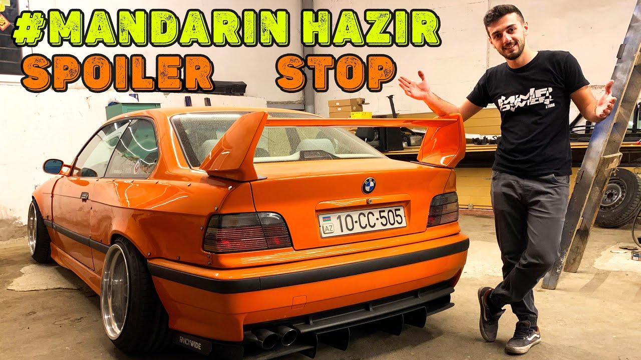 #Mandarin Hazır Yeni Spoiler və Stoplar | Mazda yenidən aramızda | Günlük VLOG